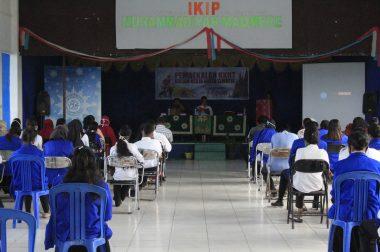 Pembekalan KKNT IKIP Muhammadiyah Maumere: #StopCovid19