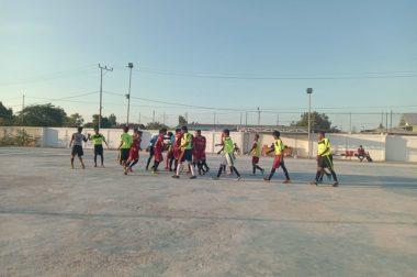 Muhammadiyah Muda ditahan imbang dalam laga perdana Futsal Sparing Partner IV